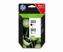 HP 302 Ink Cartridge - Multipack